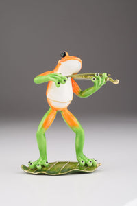 Violin Playing Frog