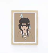 Art Print - Indian Girl