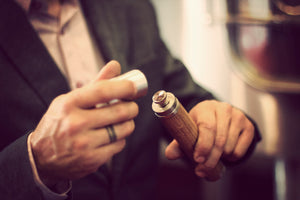 Handmade fist-sized Kole Flask that redefines elegance