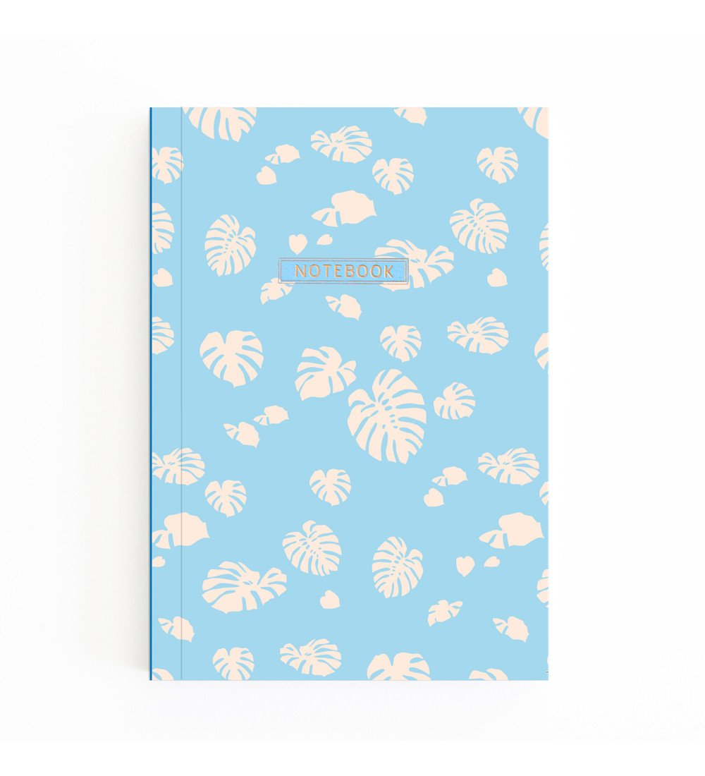 Pocket Notebook - Monstera Leaves