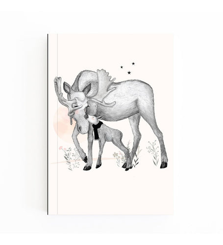 Pocket Notebook - Moose Love