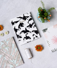 Mini Notebook - Orca Whales