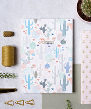 Notebook - Cactus Pattern