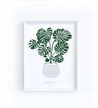 Art Print - Monstera deliciosa
