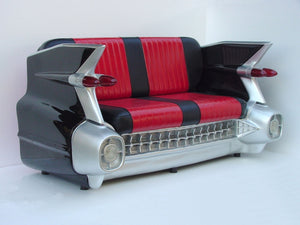 Chevrolet Classic Car Sofa Black