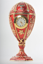 Red Egg with a Clock