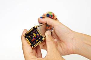 Mr Squishy Brass Kaleidoscope, Unique Kaleidoscope, Gift idea, Collectible Art