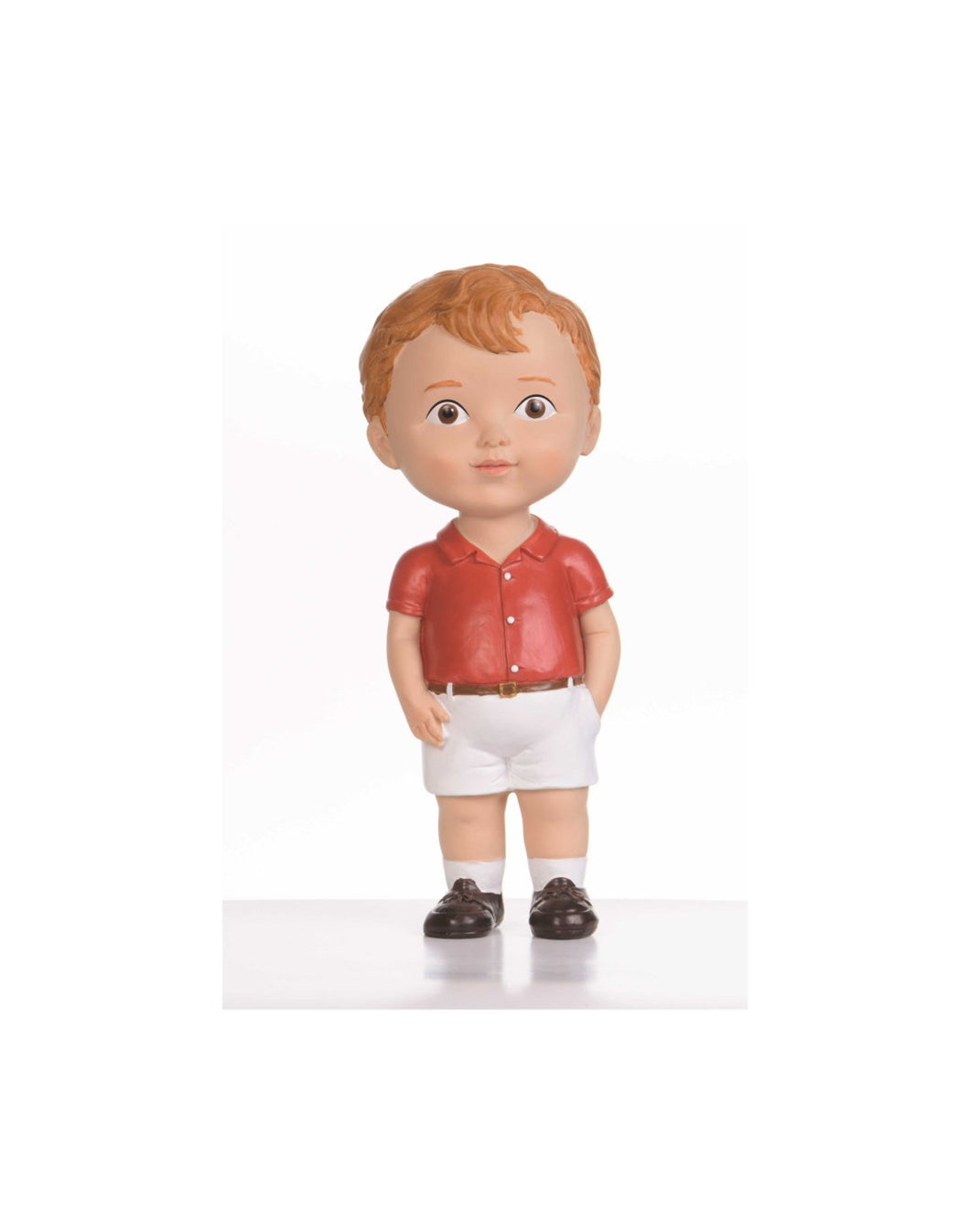 Brown Hair Boy Doll