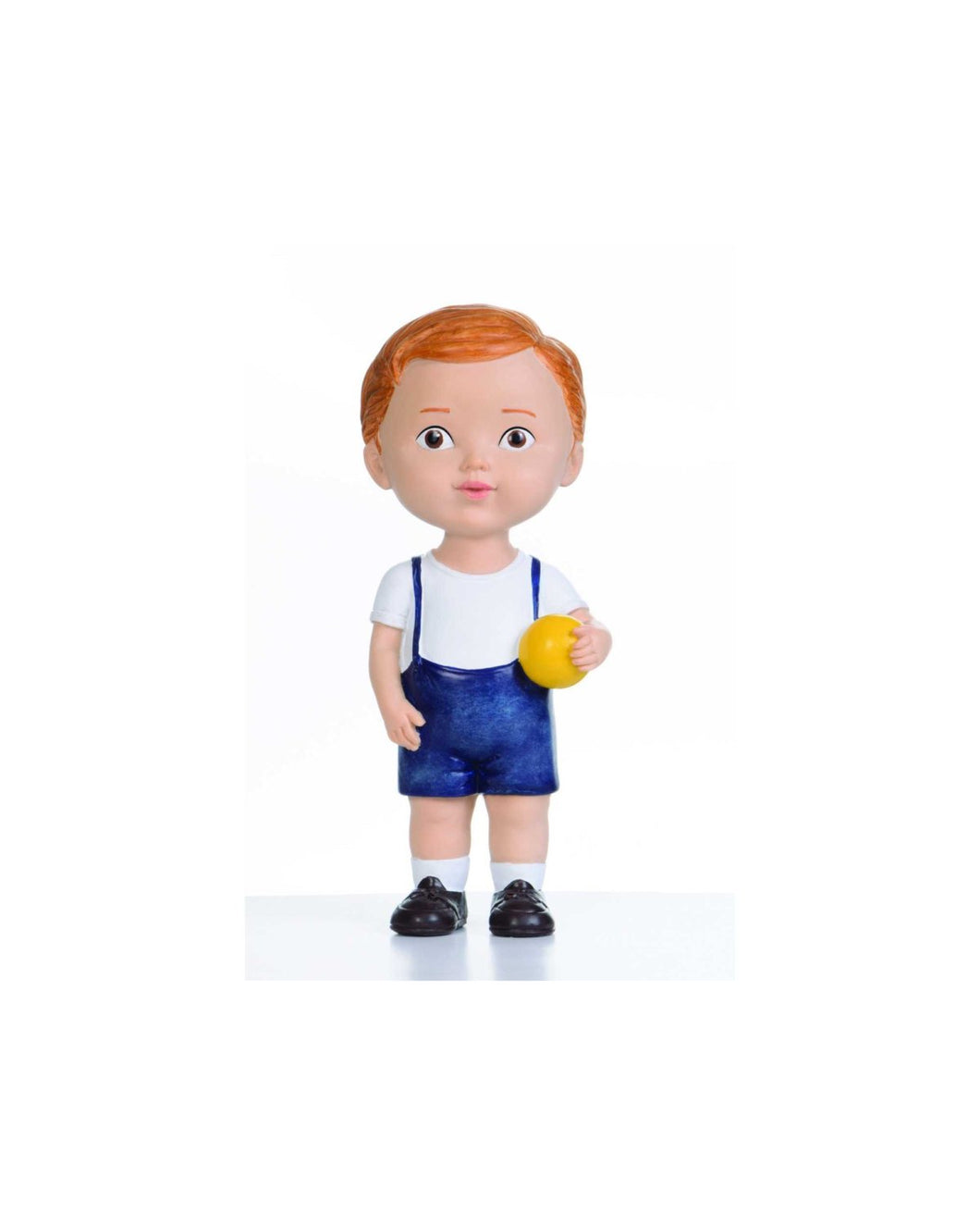 Brown Hair Boy with Ball Doll