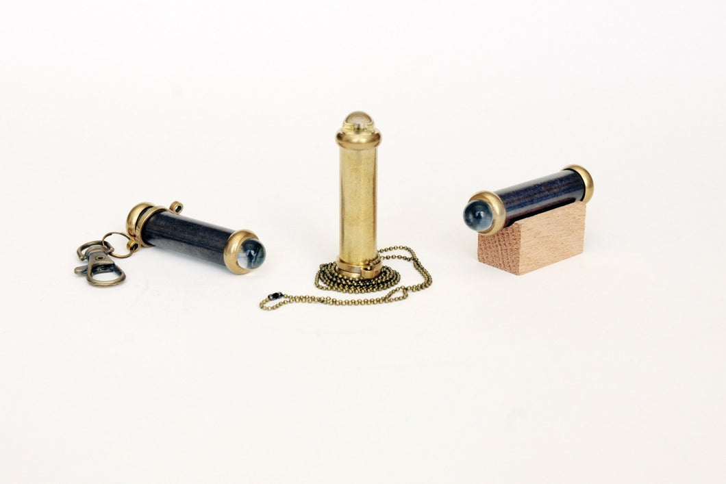 Mini Teleidoscope, Small Brass Teleidoscope, Gold Color teleidosocpe, Gifts for everyone