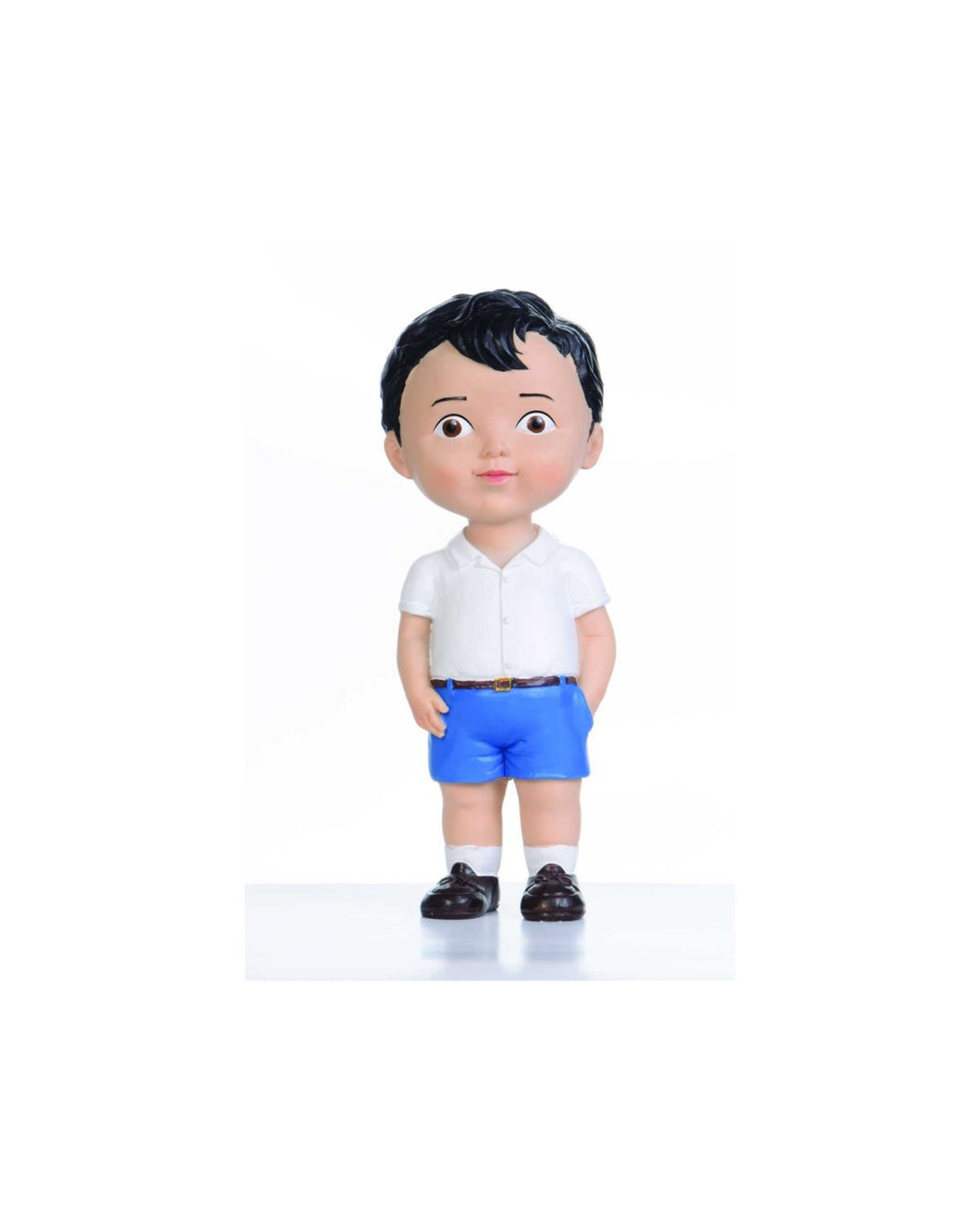 Black Hair Boy Doll