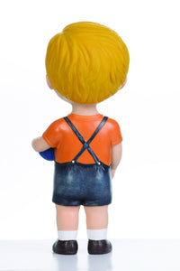 Blonde Hair Boy with Ball Doll