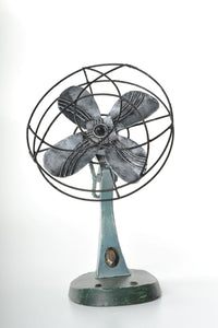 Retro Fan Replica Vintage Decoration Antique  Metal made