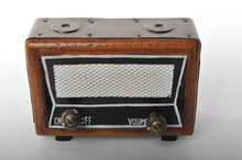 Wooden Miniature Replica of a Classic Radio Vintage Decoration Antique Trinket Box