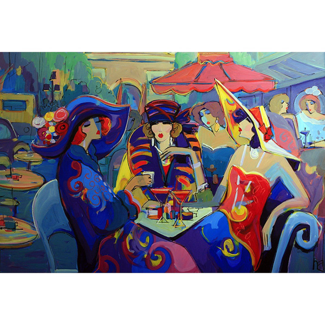 An Evening Out by Isaac Maimon