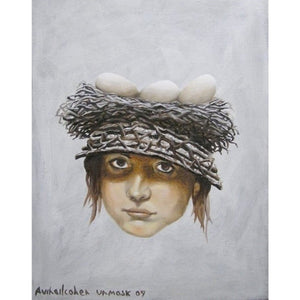 Egg Basket om Woman Head by Avihai Cohen