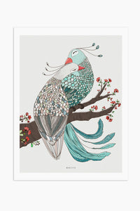 Art Print - Peacocks