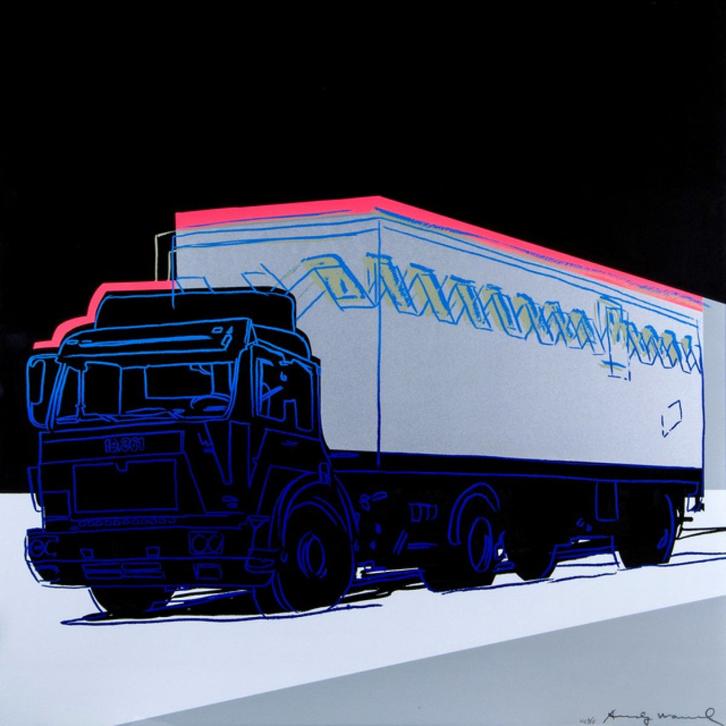 Truck (f.&s.369) by Andy Warhol (1928-1987)
