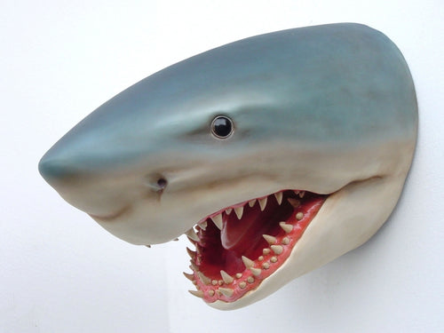 Shark Head Mount Wall Decor