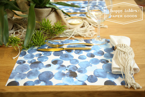 Paper Placemat Happy Tables Stain