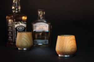 Oak Honey Whiskey Tumbler