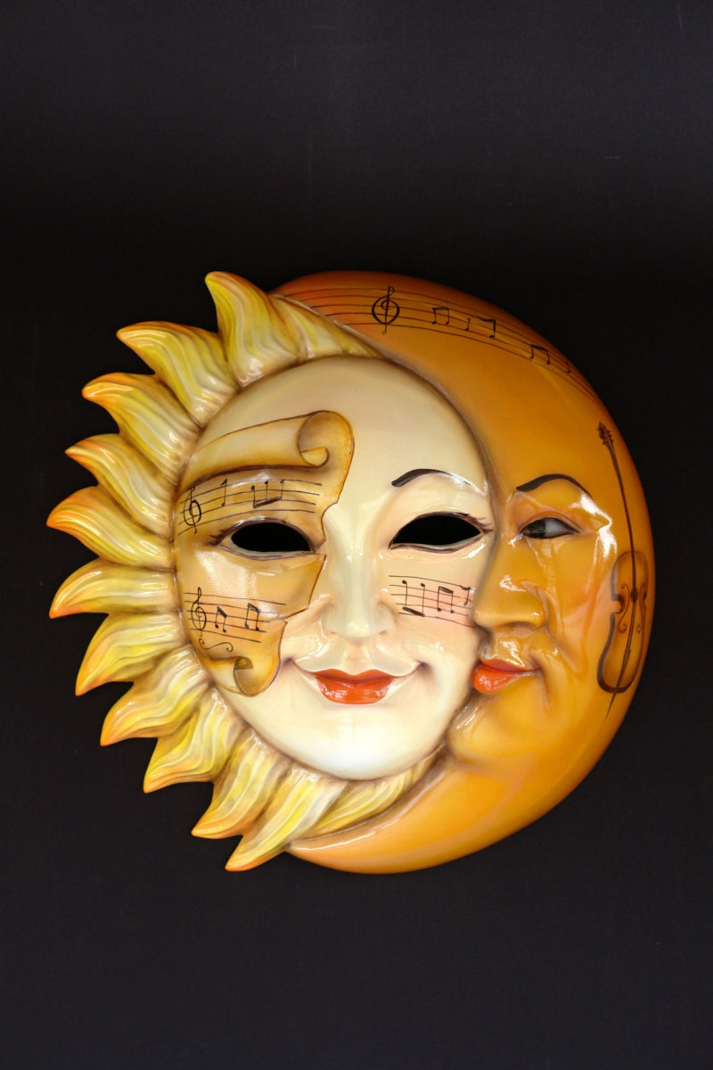Sun & Moon Sole E Luna Giallo mask