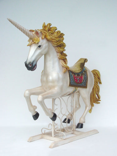 Unicorn With Metal Base