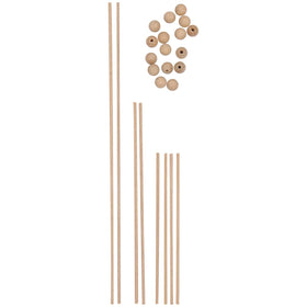 Rico Wooden Mobile Rods