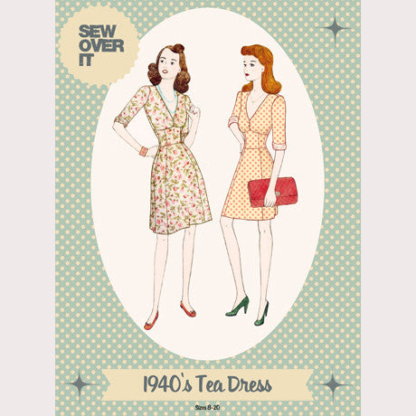 1940's Tea Dress Pattern