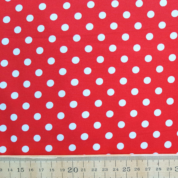 Polka Dot Print Cotton /.25m