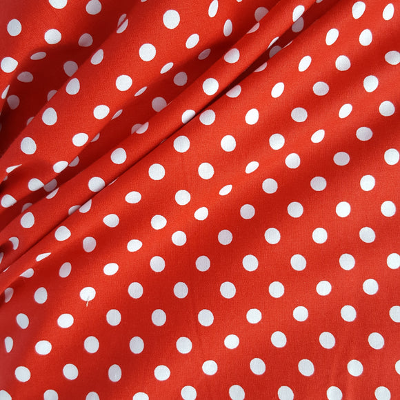 Polka Dot Print Cotton /.25cm