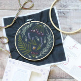Hawthorn Handmade Embroidery Kit - Botanicals