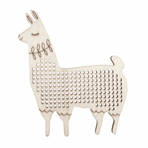 Alpaca Cross Stitch Decoration
