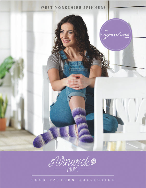 Winwick Mum Sock Pattern Collection