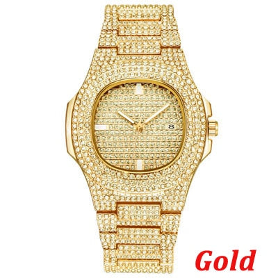 18k Gold Plated Baller Watch.