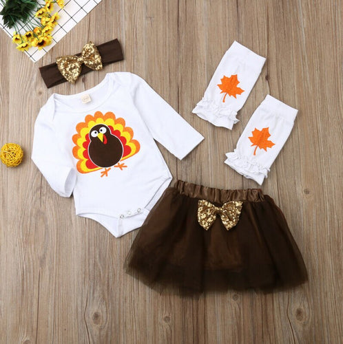 Turkey Tulle Set