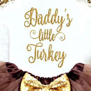 Daddy's Little Turkey Set