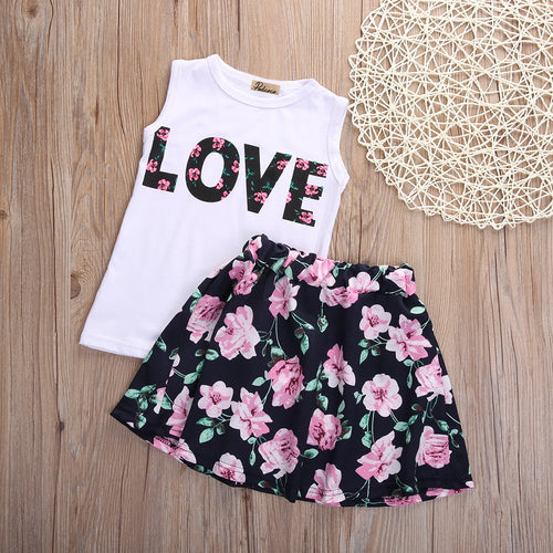 Love flower girl set