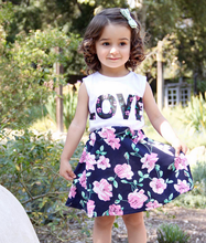 Load image into Gallery viewer, Love flower girl set