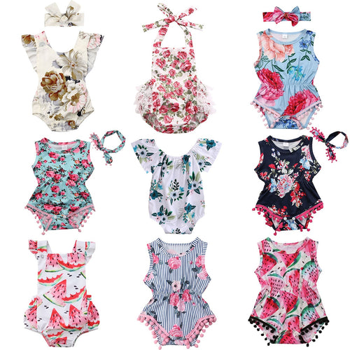 Summer Baby Sunsuits