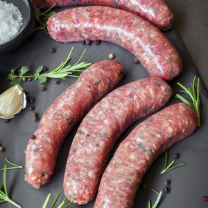 Lamb and Mint Sausages (1kg)
