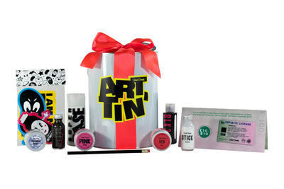 The artiest holiday gift set - Red Edition - Culture Hustle USA