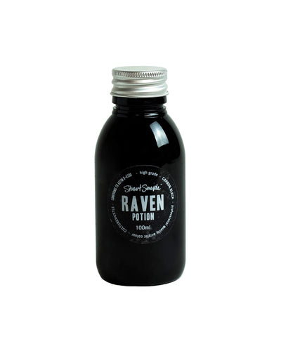 RAVEN - carbon black, high grade professional acrylic paint, by Stuart Semple 100ml - Culture Hustle USA