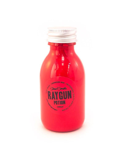 RAYGUN - cadmium red, high grade professional acrylic paint, by Stuart Semple 100ml - Culture Hustle USA