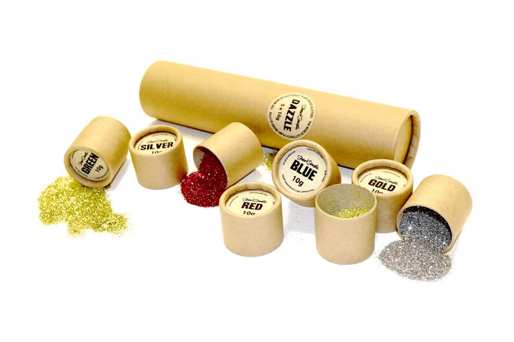 DAZZLE - the world's glitteriest plant based eco glitter pack - 5 x 10g - Culture Hustle USA