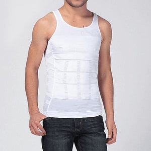 e1ea9ae5e3ef3 Men Shapers Summer Solid Sleeveless Firm Tummy Belly Buster Vest Control  Slimming Body Shaper Underwear Shirt