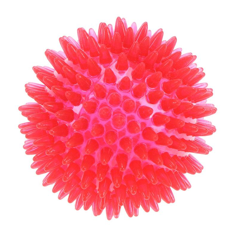 Eco Friendly Non Toxic Flashing Squeaky Dog Ball
