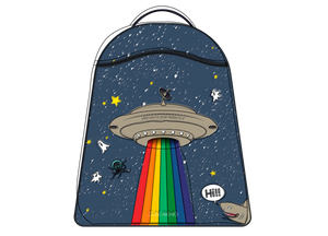 Backpack New Ralphie Space Rainbow