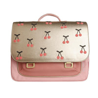 Cartable Midi Cherry Pompon