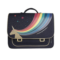 Cartable Midi Unicorn Gold
